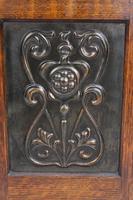 Small Edwardian Arts & Crafts Oak Cabinet (9 of 16)