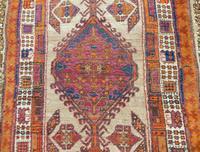 Antique Sarab Carpet Runner Rare Colours (6 of 9)