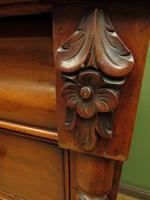 Antique Late 19th Century Mahogany Chest of Drawers, Country House Chest (8 of 15)