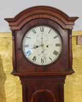 8  Day Scottish Mahogany Longcase Clock (2 of 7)
