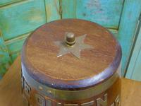 "Royal Navy ""Grog Tub"", Oak and Brass Sailor's Rum Barrel (3 of 9)"