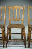 Set of 4 Rustic Kitchen Chairs (2 of 7)