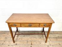 Antique Mahogany Side Table with Drawers (3 of 10)