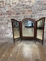 1920s Mahogany Dressing Table Mirror (2 of 4)