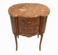 Antique French Commode Empire Bedside Chest c.1920 (3 of 9)