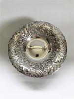 A Gorgeous Victorian Pierced Silver Dish (5 of 7)