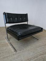 1960s Chrome & Leather Chair (11 of 12)