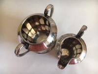 James Dixon & Son EPNS Sugar Bowl & Creamer 1920 (2 of 5)