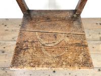Two Similar 19th Century Oak Bar Back Farmhouse Chairs (8 of 10)