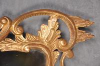 Fine 19th Century Chippendale Style Giltwood Mirror (6 of 8)