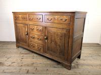 Antique George III Oak Dresser Base (7 of 7)