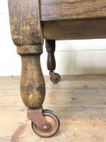 Antique Oak Drinks Trolley (m-1400) (4 of 8)