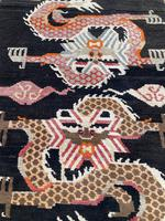 Antique Tibetan Dragon Rug (4 of 9)