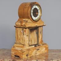 Sienna Marble Clock Garniture (2 of 6)