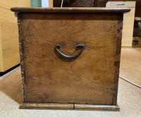 18th Century Brassbound Elm Trunk (16 of 18)