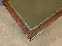 Victorian Mahogany Two Drawer Writing Table (10 of 11)