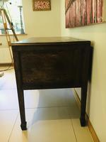 Wonderful George III Oak Sideboard Server / Buffet with Rare Cellaret Drawer c.1760-1820 (8 of 12)