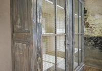 Large Scale 19th Century Painted Housekeepers Cupboard (14 of 17)