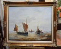 Large Oil on Canvas Marine Seascape Listed Artist Bill Haines (13 of 13)