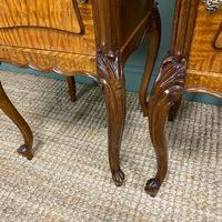 Pair of Hungarian Ash Antique Bedside Cabinets (6 of 6)