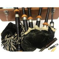 McCallum Bagpipes, Chanter & Mouthpieces, Nickel Mounts, Travel Carry Box (3 of 3)