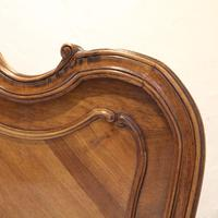Beaded Louis XV Walnut Antique Bed (3 of 7)