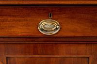 William IV Mahogany Glazed Bookcase (13 of 13)
