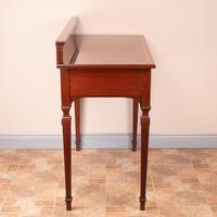 Edwardian Inlaid Mahogany 2 Drawer Side Table (8 of 15)
