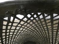 Tall Iron Lattice Waste Paper Basket (4 of 6)