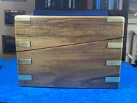 Victorian Brass-bound Walnut Writing Slope with Secret Drawers (34 of 39)
