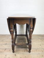Early 20th Century Oak Gateleg Table (4 of 9)