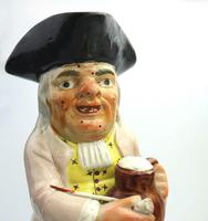 Good Staffordshire Pearlware Toby Jug Early 19th Century (7 of 12)