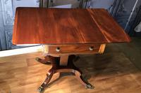 Regency Mahogany Sofa Table (9 of 9)
