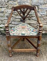 Antique Oak Turners Corner Chair (2 of 14)
