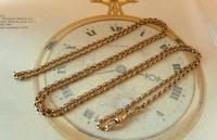 Edwardian Ladies Pocket Watch Guard Chain 1905 12ct Rose Gold Filled (4 of 8)