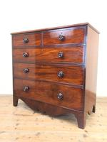 Antique Mahogany Chest of Drawers (8 of 10)