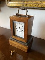 French Campaign Carriage Clock by Leroy A Paris c.1830 (4 of 5)