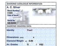 Pearl & Diamond, 14ct Yellow Gold Drop Earrings c.1930 (8 of 9)