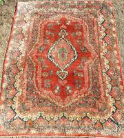 Good Antique Saroukh Carpet Room Size