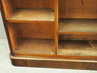 Victorian Mahogany Open Bookcase (9 of 11)