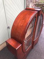 Art Deco Walnut Display Cabinet (6 of 11)