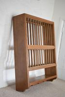 Solid Oak Wall Mounted Plate Rack (2 of 10)