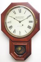 Impressive Victorian American Drop Dial Wall Clock 8 Day Movement Seth Thomas (12 of 12)