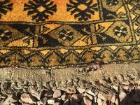 1960's Hand Woven Afgan Bokara Rug (7 of 7)