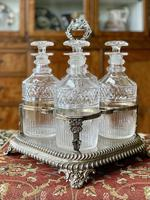 Early 19th Century Decanter Set in Stand (2 of 15)