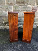 Pair of Antique Mahogany Open Bookcases (7 of 7)