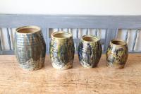 Scottish Pottery Slipware Barrel Storage Jars x4 (12 of 35)