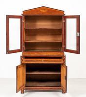 Superb Dutch Mahogany Inlaid Bookcase (3 of 9)