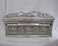 Beautiful Antique Silver Shan States Burmese Lime Box c.1900 (6 of 8)