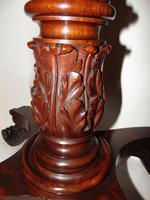 American Regency mahogany card table (8 of 9)